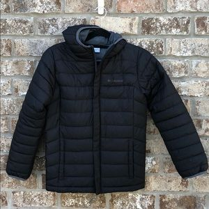Columbia boys powder jacket